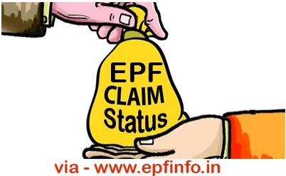 Check PF Claim Status Bhopal PF Office