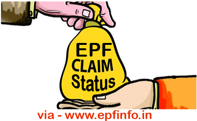 Check PF Claim Status Ranchi PF Office
